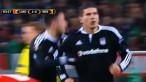 Lokomotiv Moscow vs Beşiktaş JK - Mario Gómez 1:1