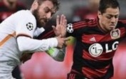 Champions League-Bayer Leverkusen vs Rom (4-4)